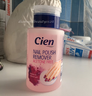 cien lidl solvente remover senza acetone acetone free