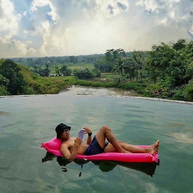 Lokasi Pemandian Air Panas Gunung Panjang