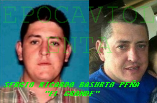 """SERGIO RICARDO BASURTO PEÑA """"EL GRANDE"""" LIDER PESADO POCO NOMBRADO -DE LOS DEL LAZCA- DESDE EL 2010 SE OFRECE POR EL UNA RECOMPENSA DE 10 MILLONES DE PESOS EPOCA%2BGRNADE"""