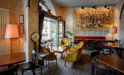 Bar Pinch interior design for aperitivo in Navigli Milan