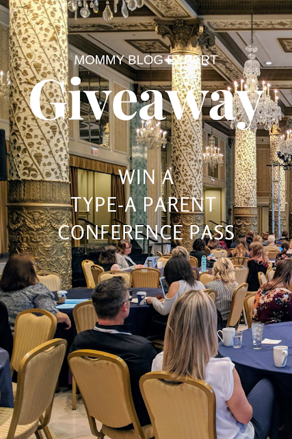 Type-A Parent Conference Pass Giveaway
