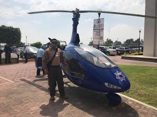 """Presentan """"GiroCóptero"""" Policial."""