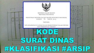 Kode Nomor Surat Dinas Yang Sesuai Ketentuan Permendagri