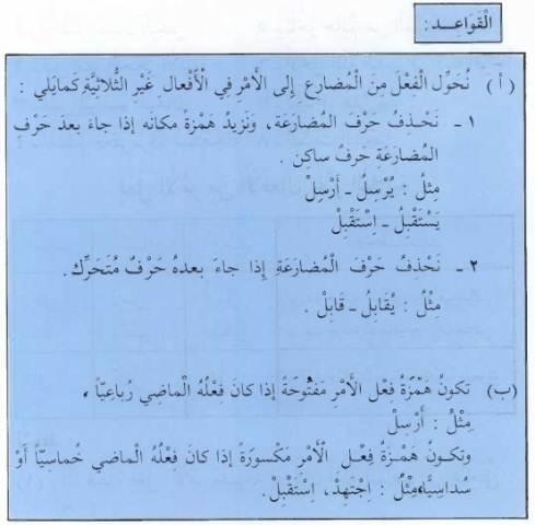 القواعد || Fi'il Amr (bentukan) dari Fi'il bukan Tsulatsi