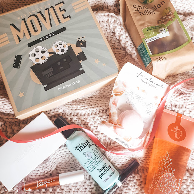 Pink Box - Februar 2019 - Glamour Movie Night