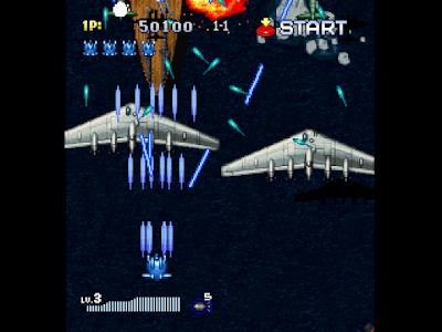 【PS】彩京1945-II(Strikers 1945 II),火力最強無限生命修改版!