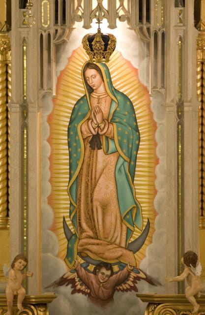Nossa Senhora de Guadalupe - Wallpapers de Nossa Senhora - Imagens da Virgem Maria