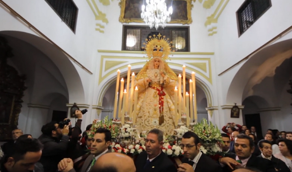 Jerez y Córdoba autorizan realizar los primeros rosarios externos