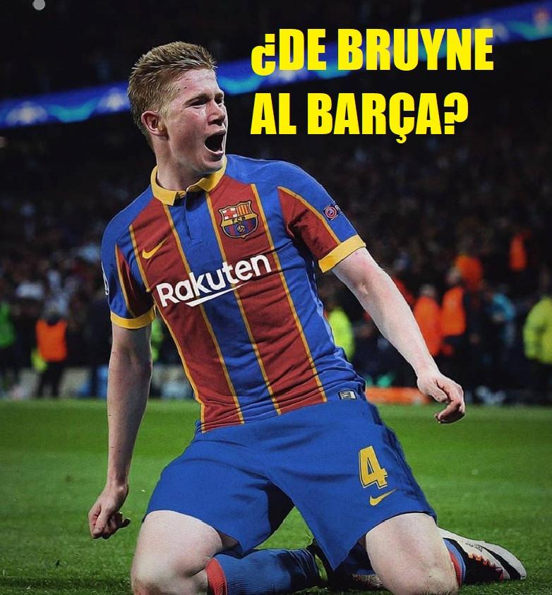 Kevin De Bruyne al barcelona