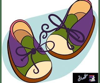 دبدوب يصنع أول حذاء له من موقع ملخصاتي