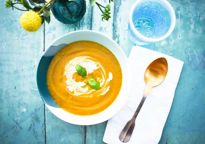 Easy Roasted Butternut Squash Soup
