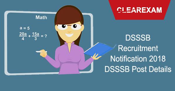 DSSSB Post Details
