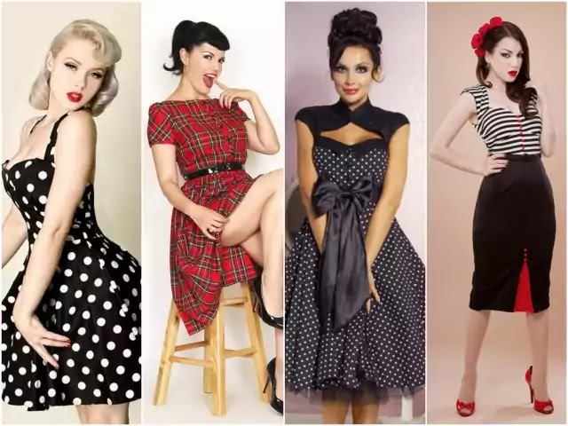 pinup style woman