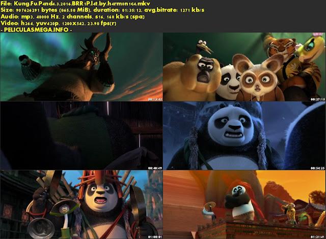 Descargar Kung Fu Panda 3 Castellano por MEGA.