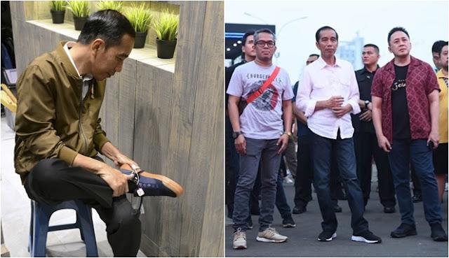 Sepatu Kesukaan Jokowi