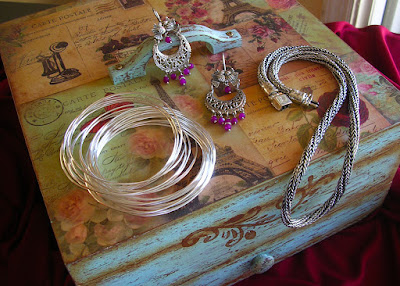Handcrafted Taxco Silver Jewelry