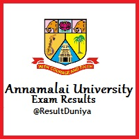 Annamalai University Result DDE