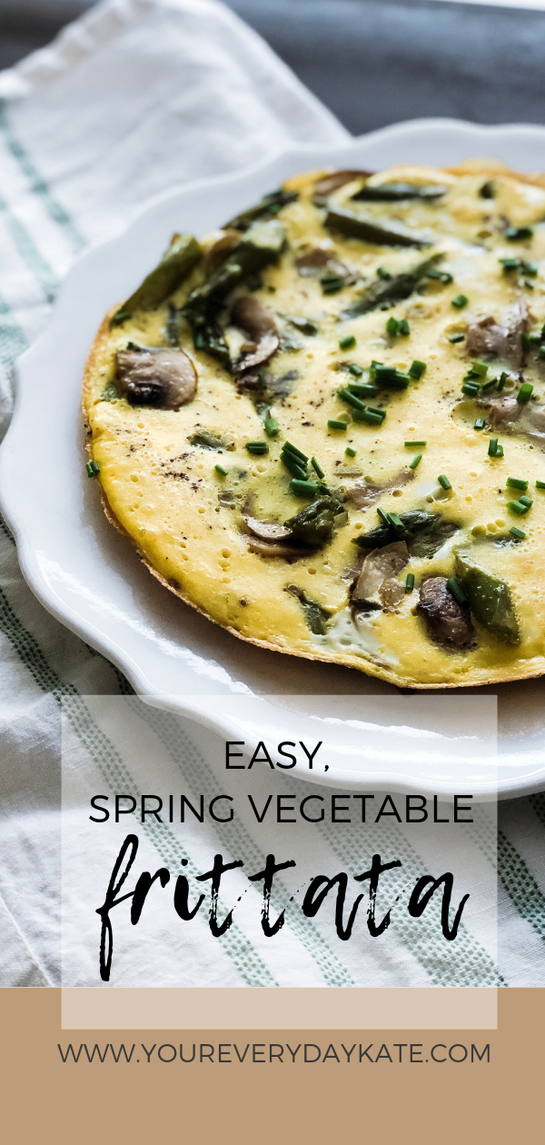 Easy Spring Vegetable Breakfast Frittata
