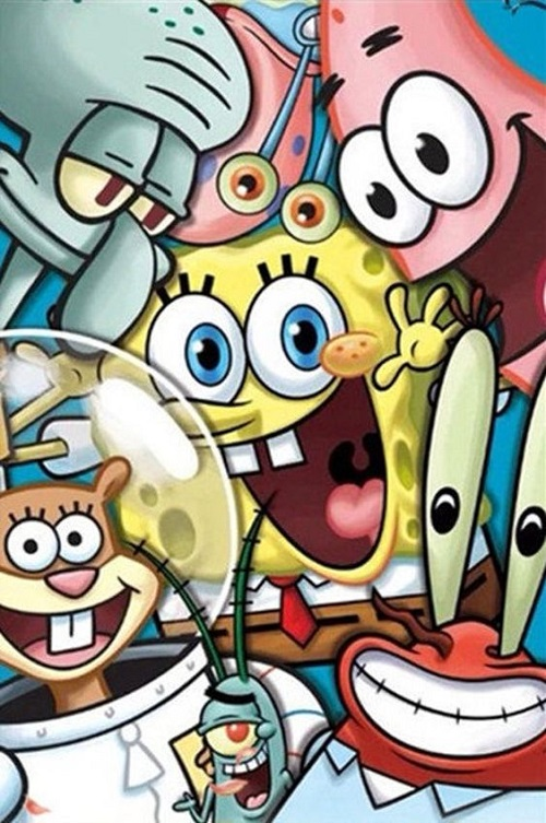 Spongebob dan penduduk bikini bottom