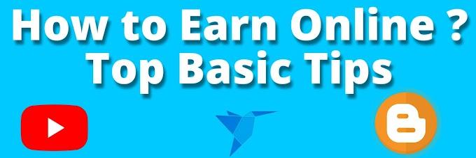 How to Earn Online - Youtube - Blogger - FreeLancer