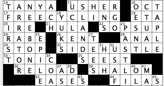 Rex Parker Does the NYT Crossword Puzzle: Classic ...