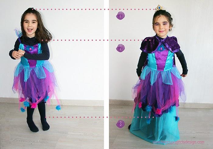 DIY: de hada a Elsa en 3 complementos