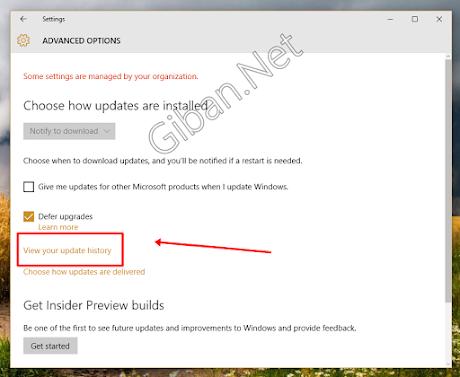 Cara Uninstall / Menghapus Windows 10 Update Otomatis -1
