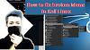 How To Fix Missing Application Menu and Hidden Taskbar Panel in Kali Linux