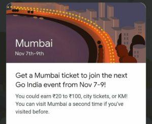 Google Pay Go India Mumbai Event