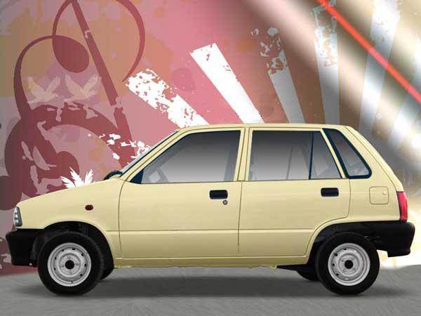 Car Modification: Maruti 800