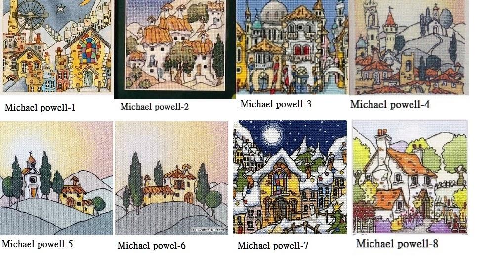 十字繡圖稿 Michael Powell Cross Stitch Pattern