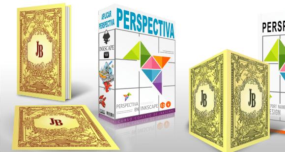 ejemplos de ilustraciones puesta en perspectiva inkscape 1.0