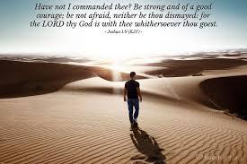 Joshua 1 9 - Today's Manna