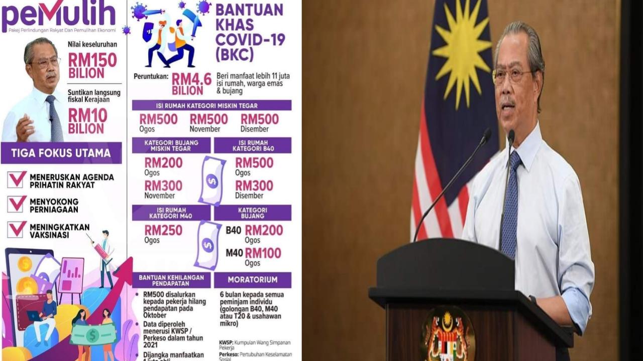 Permohonan BKC 2021 Online Bantuan Khas Covid-19 (Semakan Status)