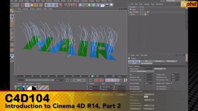 FXPHD – C4D104 Introduction to Cinema 4D R14 Part 2