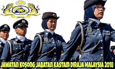Jawatan Kosong Jabatan Kastam Diraja Malaysia 2021