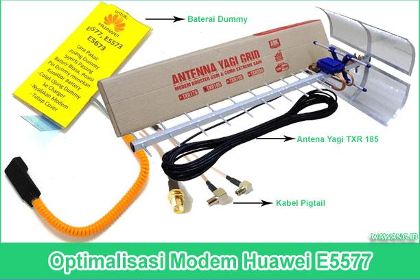 Alat yang dibutuhkan yaitu berupa baterai dummy/fake dan antena yagi ditambah kabel pigtail