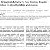 Atividade clínica e biológica da suplementação com proteína de soja em pó em voluntários saudáveis do sexo masculino.
