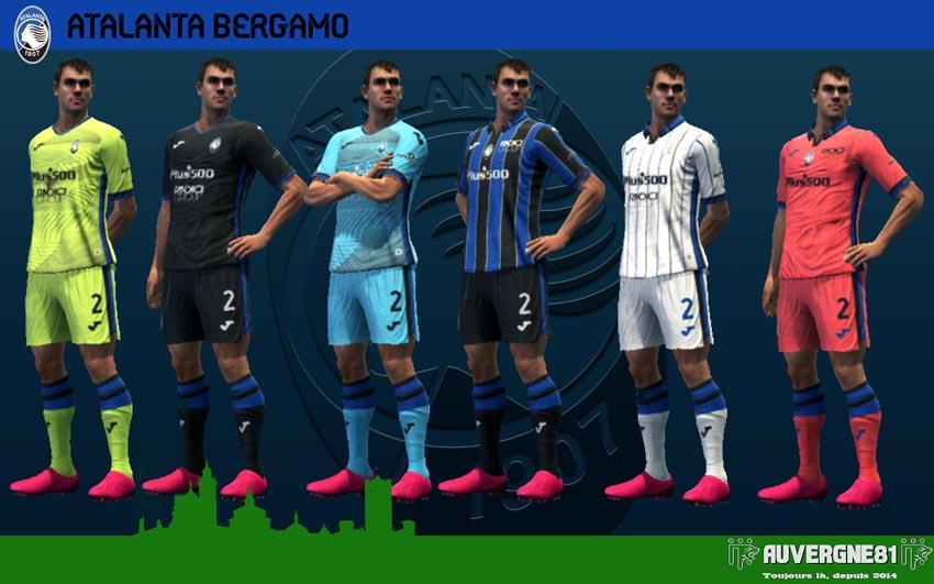Kits Atalanta 2021-2022 For PES 2013