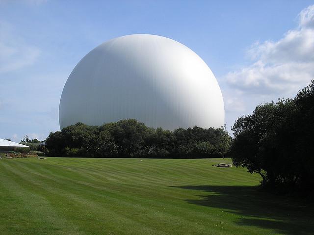 The Radome - Amazing Hi-Tech Radar Umbrella ~ Kuriositas