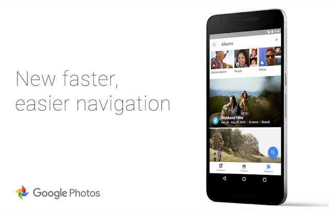 Google Photos Got v1.15 Update with new Revamped Albums Section & New Nav bar : Download APK