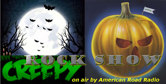 Halloween, Creepy ,Rock, Show, on air ,American Road Radio