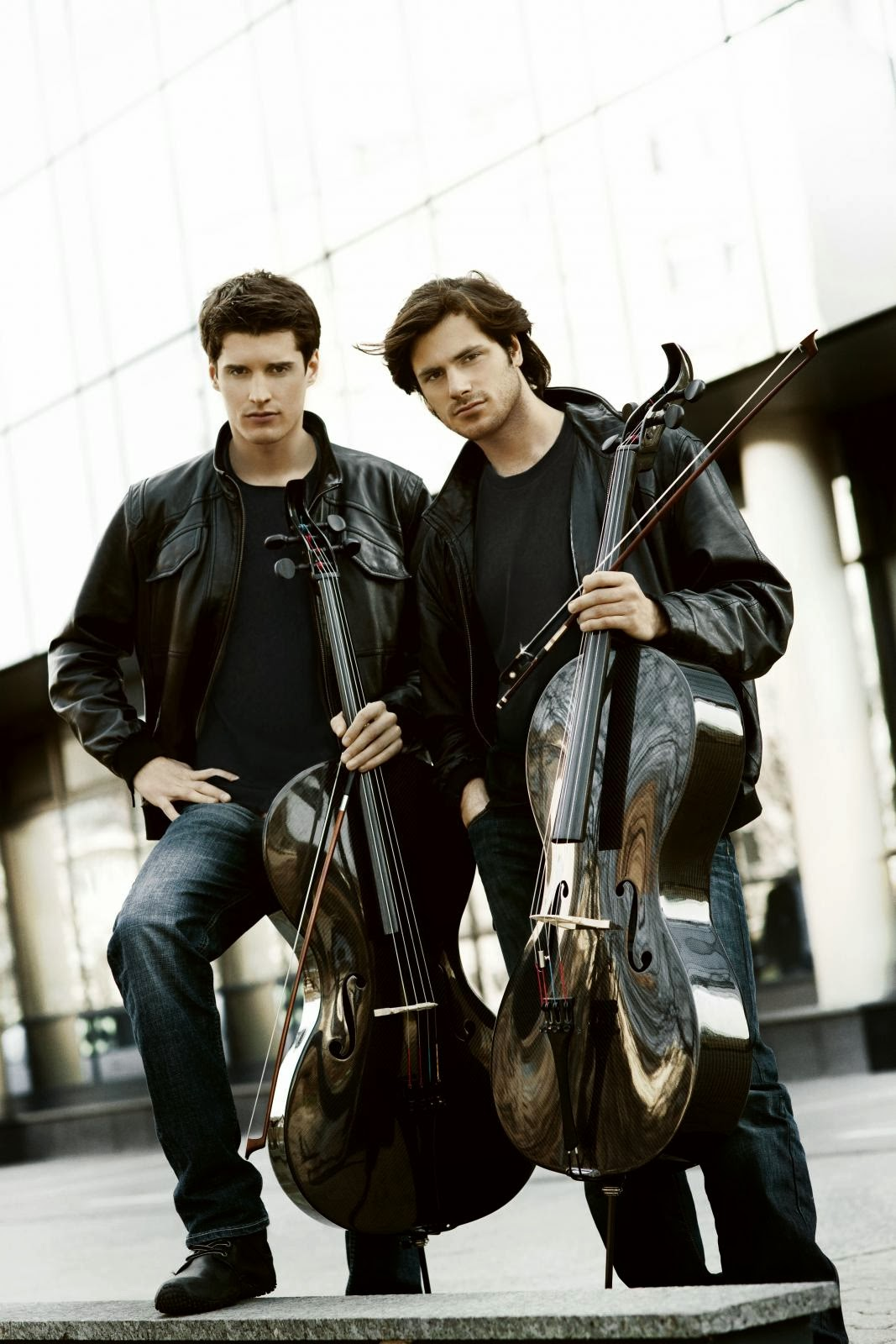 From the birds and the bees, to family trees : The 2CELLOS  Kings of