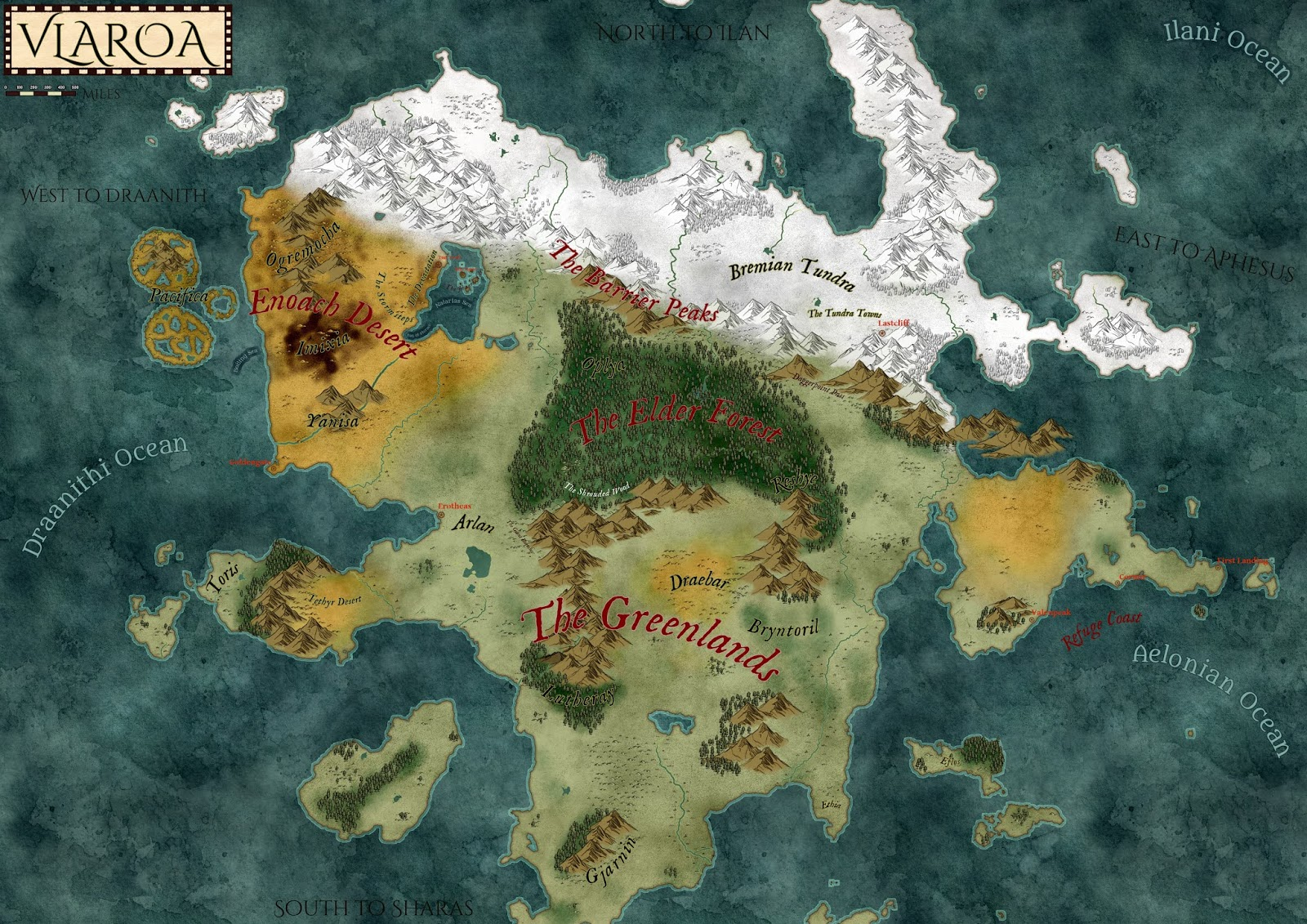 How To Make A D&D World Map Making a D&D Setting Map