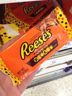 reese's peanut butter cups stuffed with reese's pieces