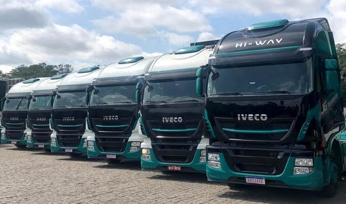 JG Transportes moderniza frota com a compra de 27 caminhões IVECO