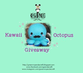 GPC Kawaii Octopus Giveaway, Blogger Giveaway, Blog, Hadiah, 2018,