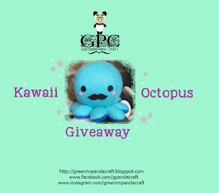 GPC Kawaii Octopus Giveaway, Blogger Giveaway, Blog, Hadiah, 2018,