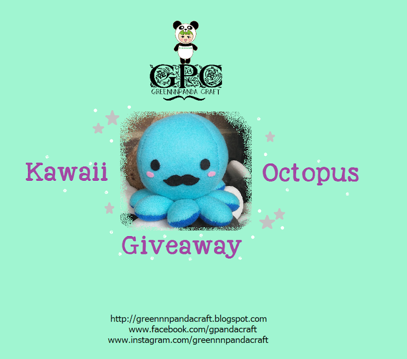 GPC Kawaii Octopus Giveaway