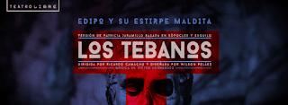Obra LOS TEBANOS | Teatro Libre de Chapinero